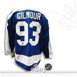 Doug Gilmour Autographed Signed Toronto Maple Leafs CCM Vintage Jersey