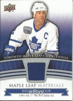 Doug Gilmour #ML-DG 2017 Toronto Maple Leafs Centennial Materials Jersey