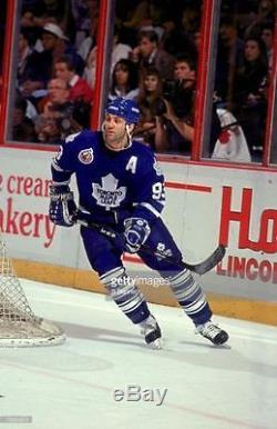 Doug Gilmour Stanley Cup 100 Toronto Maple Leafs CCM Original Replica Jersey L