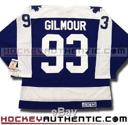 Doug Gilmour Toronto Maple Leafs Jersey CCM Vintage Blue
