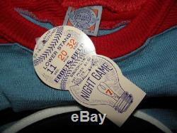 Ebbets Field Flannels Team Canada 1948 Authentic Hockey Jersey 3XL Olympics Wool