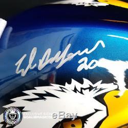 Ed Belfour Signed Autographed Goalie Mask Toronto Maple Leafs Ice Ready Coa