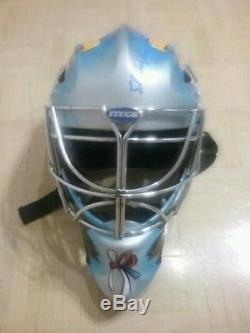 Ed Belfour autographed replica full sized goalie mask (Toronto Maple Leafs) coa