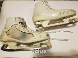FELIX POTVIN mid 90's Toronto Maple Leafs CCM Game Worn Used Goalie Skates COA