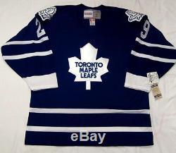 FELIX POTVIN size XL Toronto Maple Leafs CCM 550 1992-1997 Hockey Jersey
