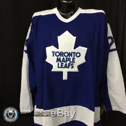 Felix Potvin Signed Autographed Jersey CCM Toronto Maple Leafs Retro