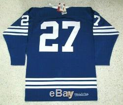 Frank Mahovlic 1967 NWT Toronto Maple Leafs Mitchell Ness Vintage Jersey Men 48