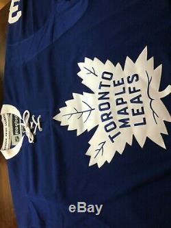 Frederik Andersen Signed/Autographed Toronto Maple Leafs Jersey with COA