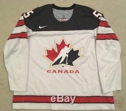 GAME WORN Nike IIHF Team Canada COLAIACOVO Jersey OLYMPICS Toronto Maple Leafs