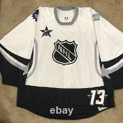 Game Issued Mats Sundin 2003 NHL All-Star Hockey Jersey Toronto Maple Leafs 58