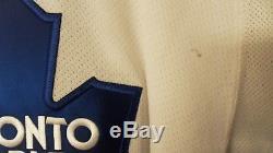 Game Worn 2010 Toronto Maple Leafs Rookie Tourney Jersey Sz 58g Scrivens