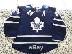 Game Worn Toronto Maple Leafs Jersey Mikhail Grabovski Mats Sundin Retirement
