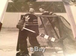 George Hainsworth 1935 Toronto Maple Leafs NHL Hockey Photo Montreal Canadiens