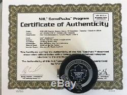 Goal Puck Robert Reichel 250 NHL Tor Toronto Maple Leafs