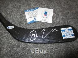 JOHN TAVARES Toronto Maple Leafs Autographed SIGNED Hockey Stick with BAS COA
