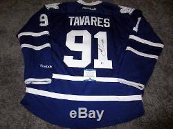JOHN TAVARES Toronto Maple Leafs SIGNED Autograph JERSEY with BAS COA New L