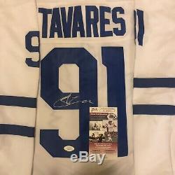 John Tavares Signed Toronto Maple Leafs Jersey JSA Cert MVP