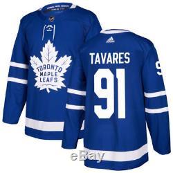 John Tavares Toronto Maple Leafs Adidas Home NHL Hockey Jersey Size 52