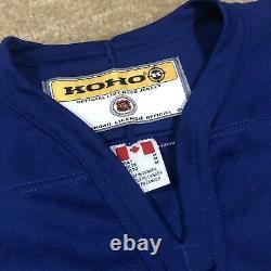 Koho Mats Sundin Toronto Maple Leafs NHL Hockey Jersey Vintage Blue Away M