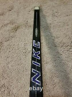 MATS SUNDIN 98'99 Signed Toronto Maple Leafs NHL NIKE Game Used Hockey Stick COA