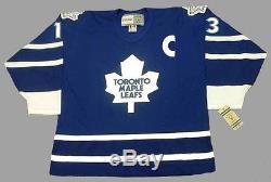 MATS SUNDIN Toronto Maple Leafs 1998 CCM Vintage Throwback NHL Hockey Jersey