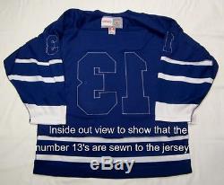 MATS SUNDIN size LARGE Toronto Maple Leafs CCM 550 2000 2007 Hockey Jersey