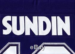 MATS SUNDIN size XL Toronto Maple Leafs CCM 550 2000 2007 Hockey Jersey