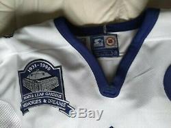 Mats Sundin 1999 Final Season Patch Toronto Maple Leafs Jersey Large