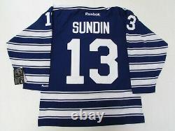 Mats Sundin Toronto Maple Leafs NHL 2014 Winter Classic Reebok Hockey Jersey XXL