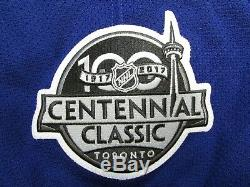 Matthews Maple Leafs 2017 Centennial Classic Team Issued Reebok Edge 2.0 Jersey