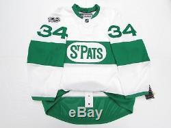 Matthews Toronto Maple Leafs Authentic St. Pat's Reebok Edge 2.0 7287 Jersey 56