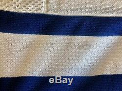 Mikael Renberg Toronto Maple Leafs game worn/used hockey jersey w LOA