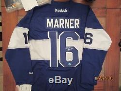Mitch Marner Autographed Centennial Toronto Maple Leafs Jersey AJ Sports Cert