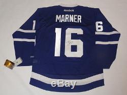 Mitch Marner Signed Reebok 2017 Style Toronto Maple Leafs Home Jersey Jsa Coa