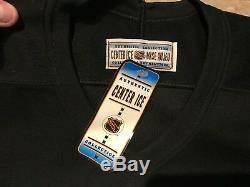 NEW VTG Toronto Maple Leafs CCM Center Ice Authentic Jersey Size 54 FIGHT STRAP