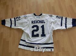 NHL Game Worn Trikot Robert Reichel Toronto Maple Leafs 2003/04 Away