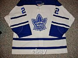 NHL TORONTO MAPLE LEAFS GAME WORN HOCKEY JERSEY KEN KLEE 3rd SET 2005-06 MEIGRAY