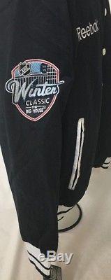 NHL Toronto Maple Leafs Winter Classic Reebok Fall & Winter Jacket With Pockets