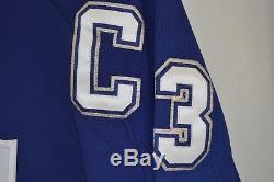 NWT Auto Signed CCM Reebok Mats Sundin 13 Toronto Maple Leafs Hockey Jersey XL
