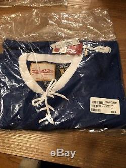 NWT Mitchell & Ness Toronto Maple Leafs 1966-67 #27 Blue Jersey Hockey Size 52