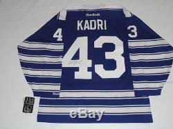 Nazem Kadri Signed 2014 Toronto Maple Leafs Winter Classic Jersey Jsa Coa