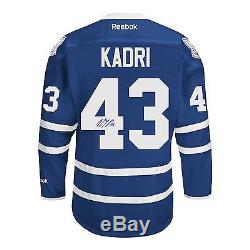 Nazem Kadri Signed Toronto Maple Leafs Jersey
