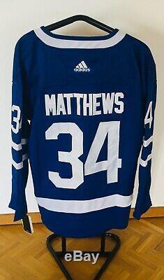 Neues NHL Trikot Toronto Maple Leafs Matthews 34# Grösse L