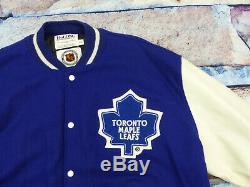 Neutoronto Maple Leafs College Jackestarternhlvintagevarsitygr Xxlneu