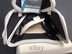 New! Bauer Nxg Toronto Maple Leafs NHL Pro Stock Goalie Glove James Reimer Jrz