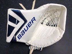 New! Bauer Nxg Toronto Maple Leafs NHL Pro Stock Team Goalie Glove James Reimer