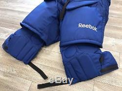 New! Reebok 9k Toronto Maple Leafs NHL Pro Stock Return Goalie Hockey Pants L