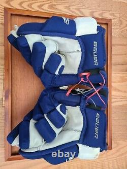 PHIL KESSEL NHL Toronto Maple Leafs Game Used Worn Gloves