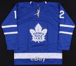 Patrick Marleau Signed Toronto Maple Leafs Jersey (JSA) Career 1997present