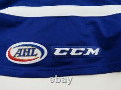 Patrick Watling Toronto Marlies Game Worn Used jersey Toronto Maple Leafs 54 COA